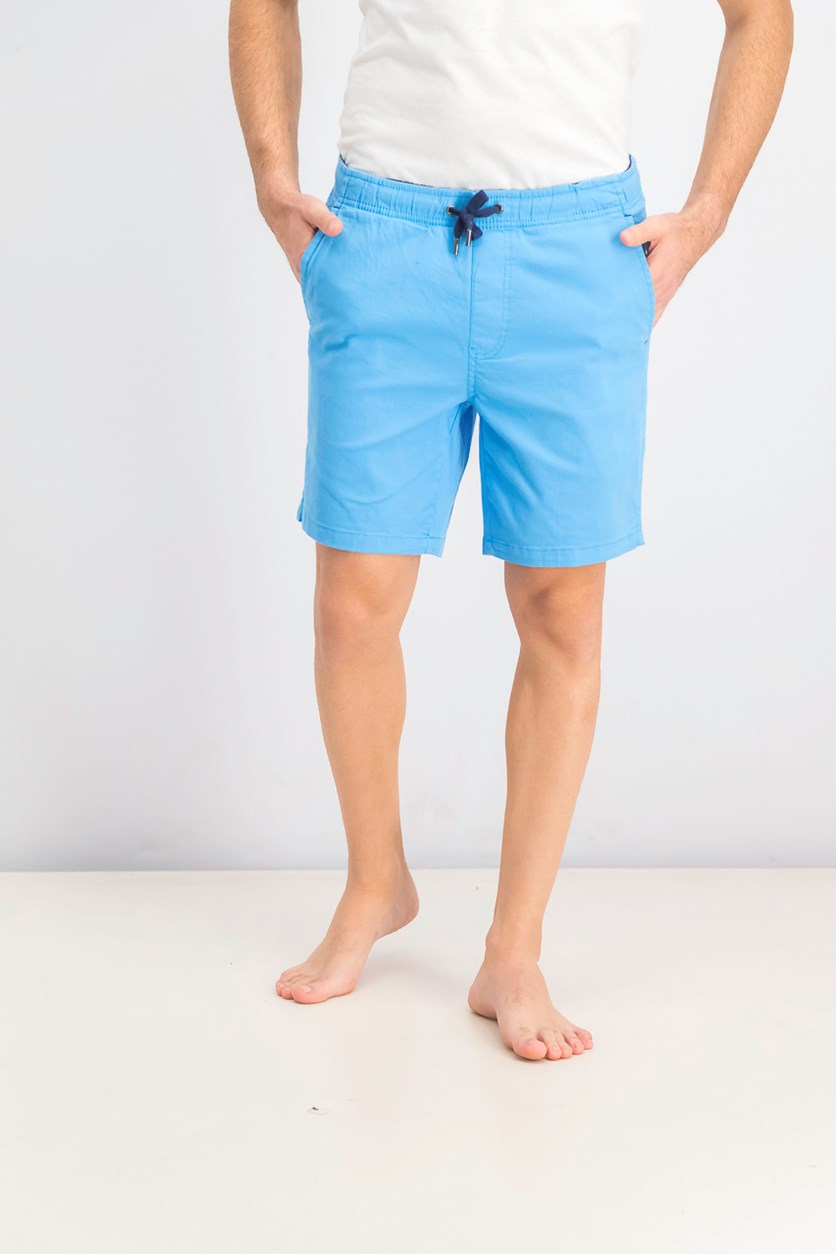 Men's Elastic Shorts, Sky