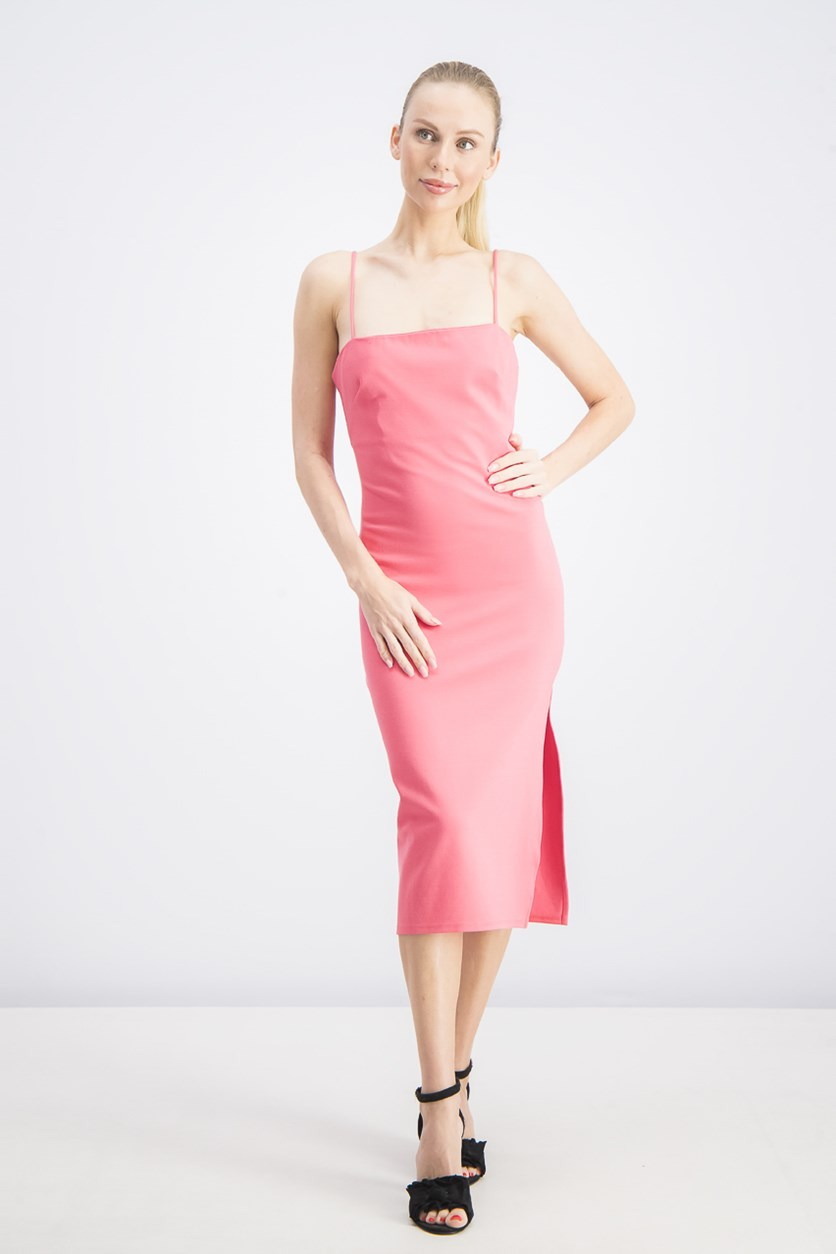Women's Bodycon Mini Dress, Pink
