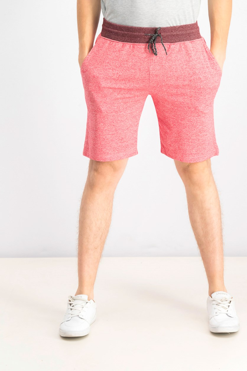 Men's Drawstring Shorts, Red