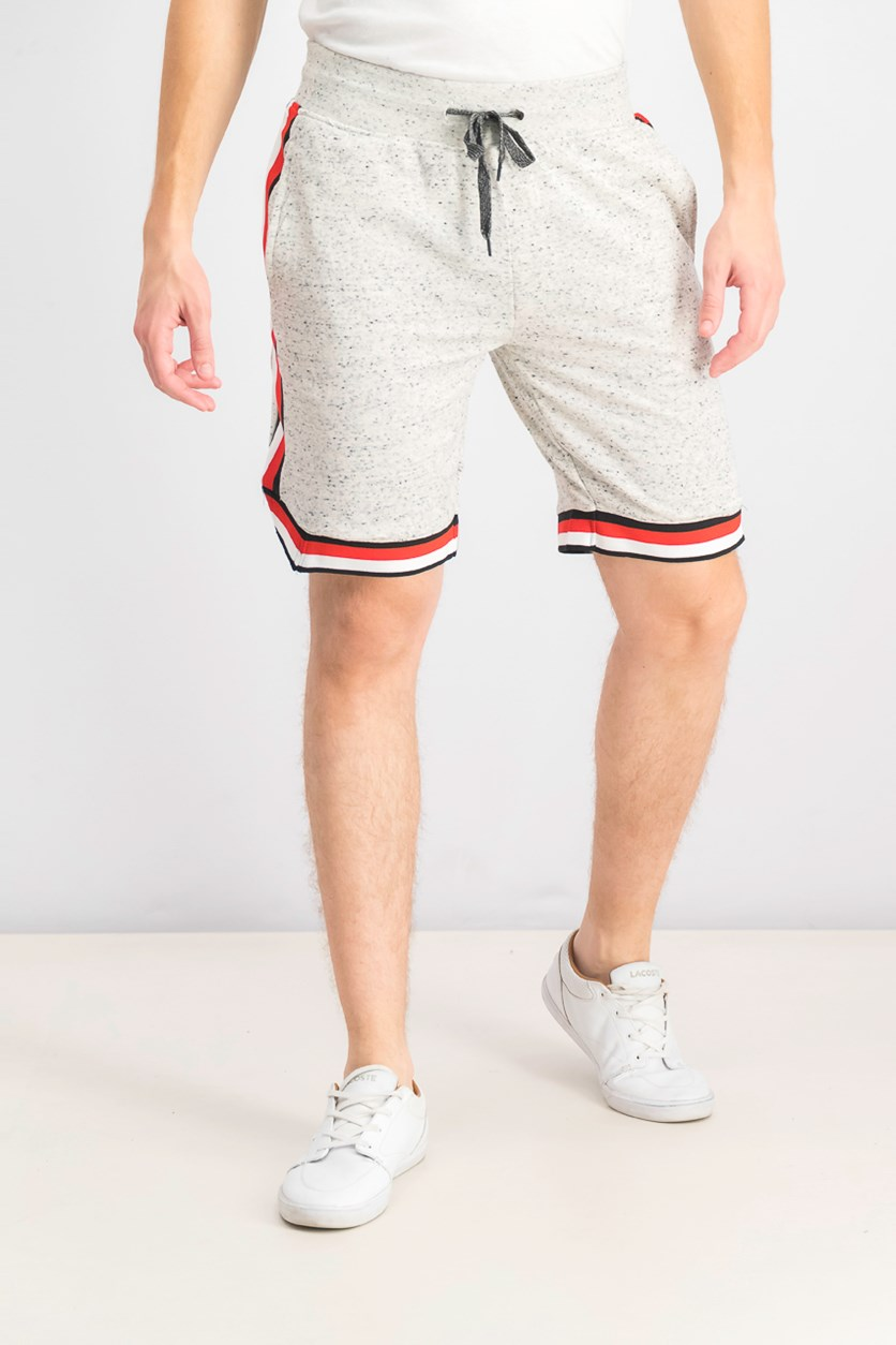 Men's Heather Drawstring Short, Oatmeal Heather
