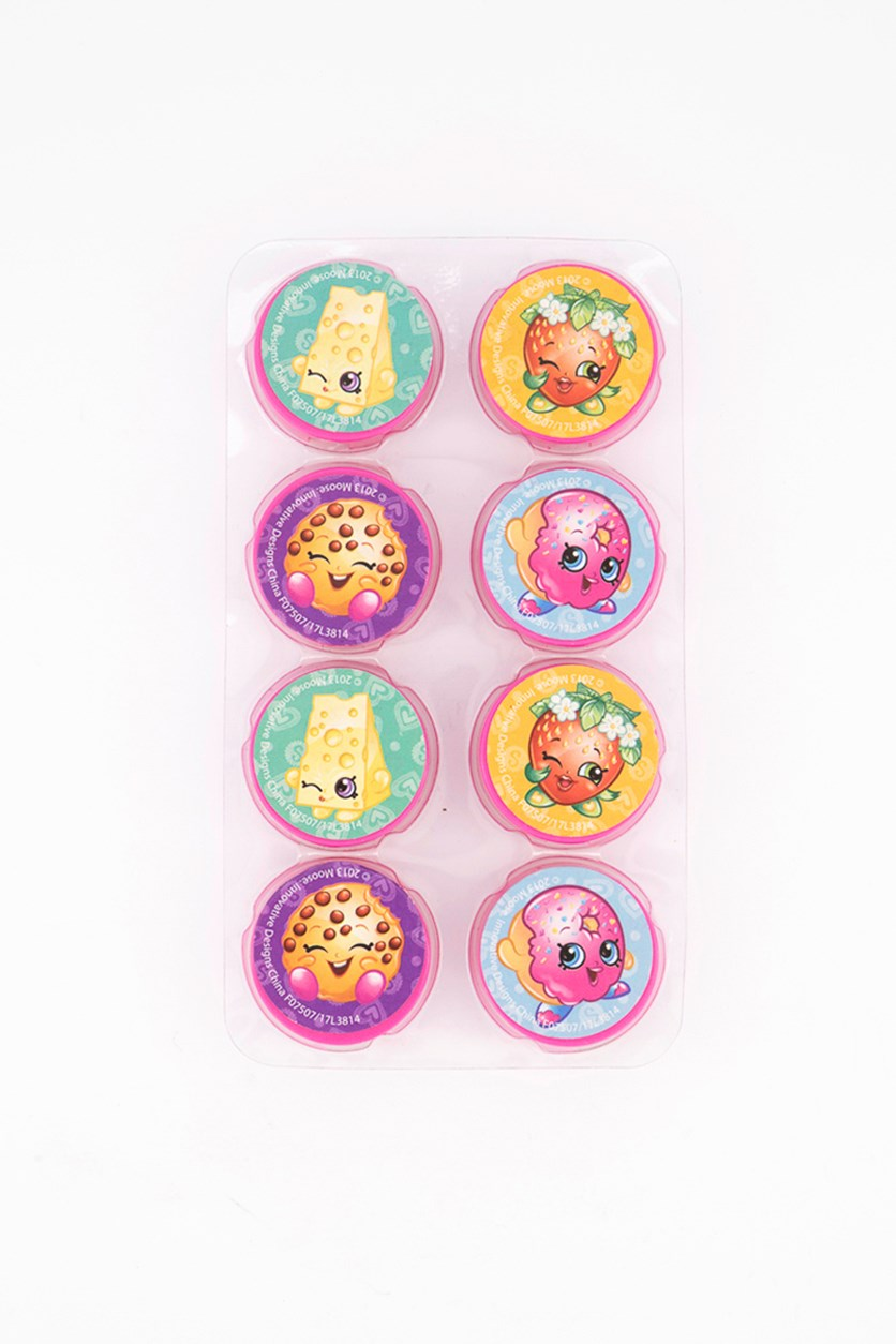 Pack of 8 Round Sharpeners, Pink Combo
