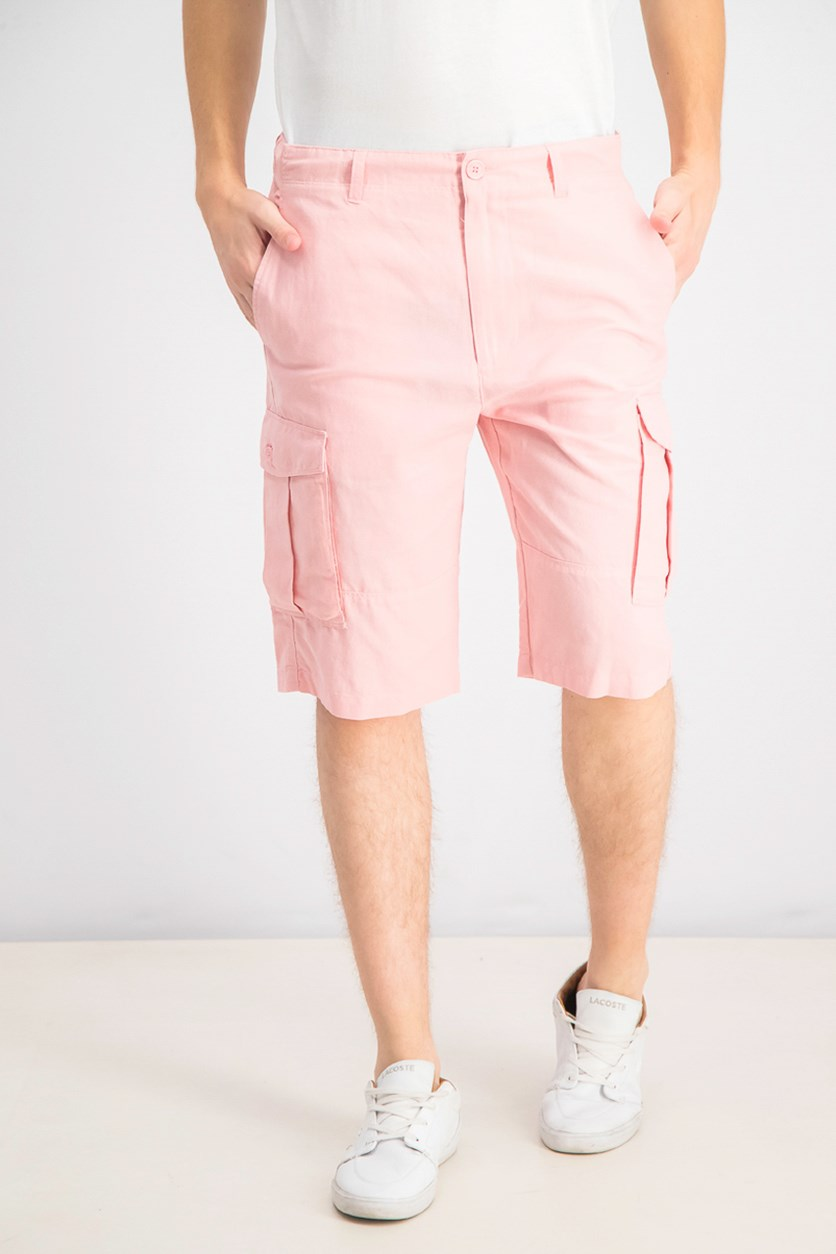 Men's Cargo Shorts, Bridal Rose