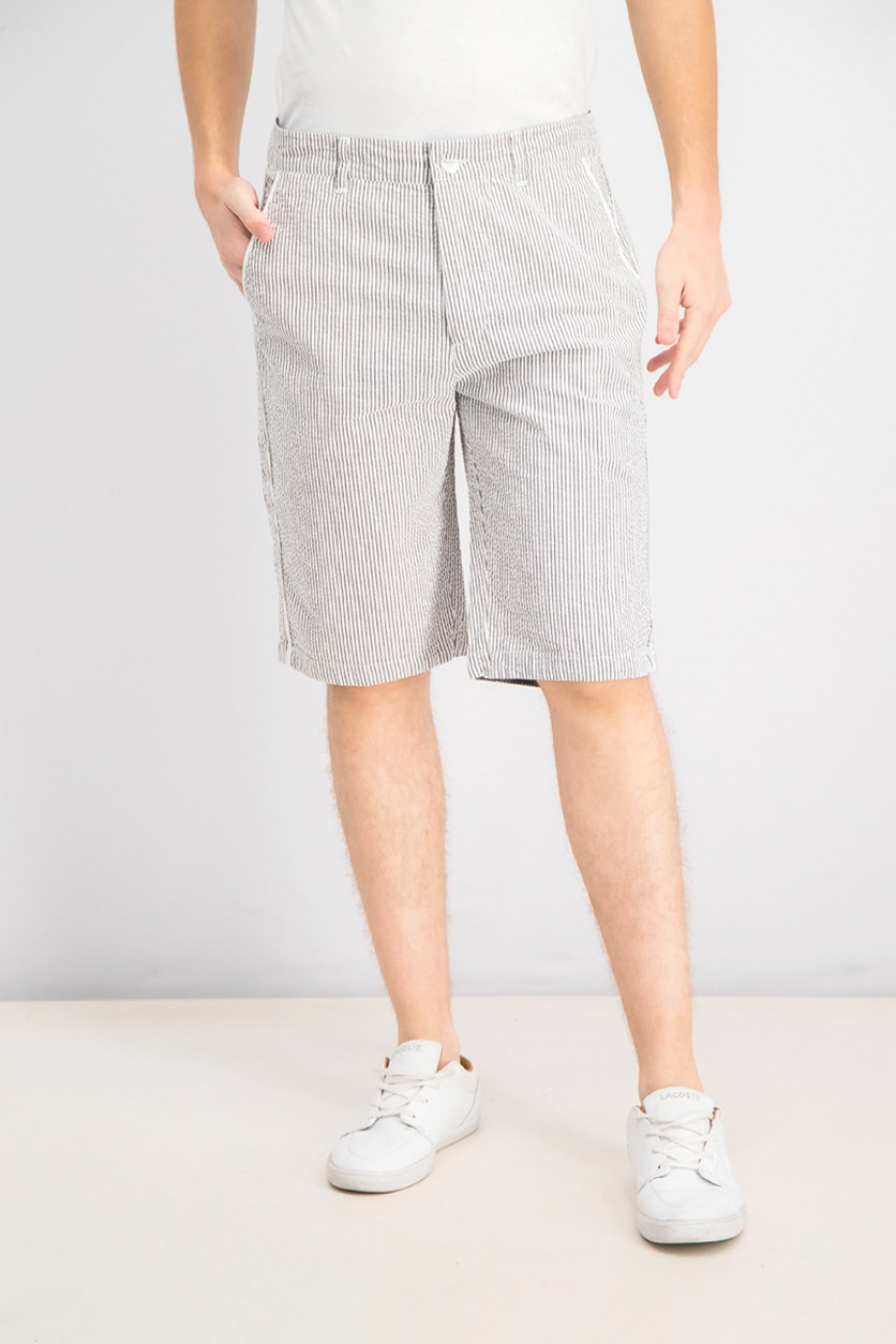 Men's Striped Shorts, Night Sky