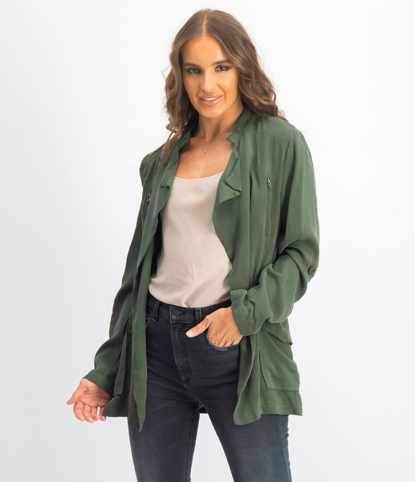 Women's Army Jacket, Green