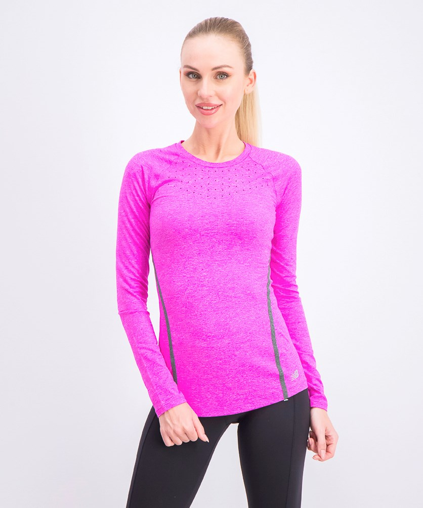 Women's Trinamic Long Sleeve Top, Purple