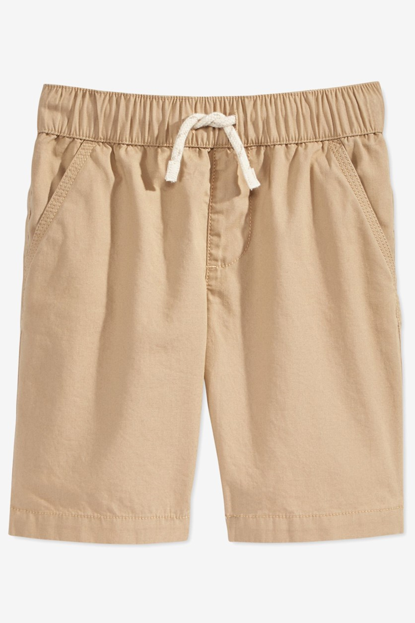 Little Boys Pull-on Shorts with Functional Drawstring, Hammock