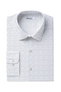 Men's Slim-Fit Stretch Easy-Care Dress Shirt, White