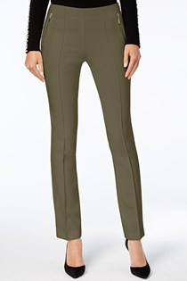 Women's Curvy-Fit Skinny Pants, Olive