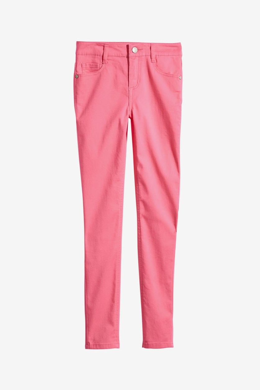 Big Girl's Skinny Fit  BFF Jeans, Pink Carnation