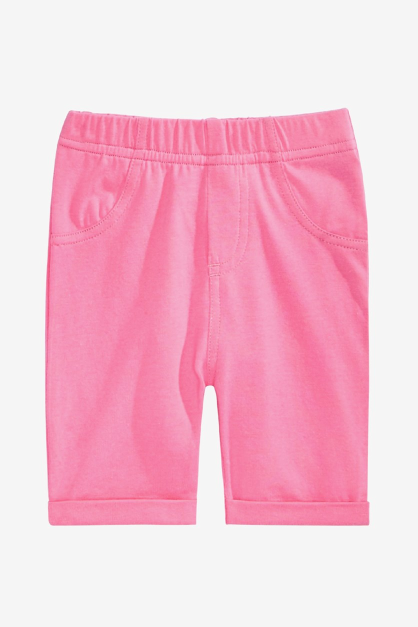 Baby Girl's Pull-On Bermuda Shorts, Wild Orchid