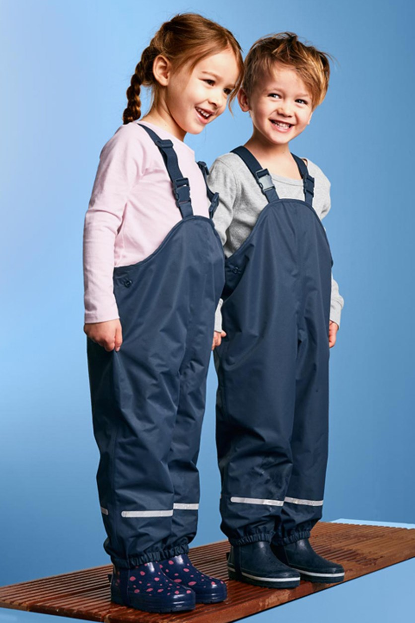 Boy's Thermo Rain-Pants, Navy Blue