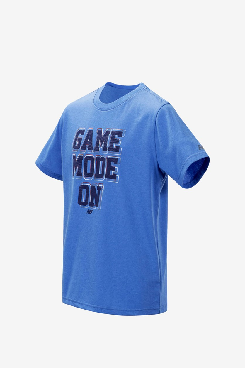 Baby Boys' Game On Mode Graphic T-Shirt, Blue