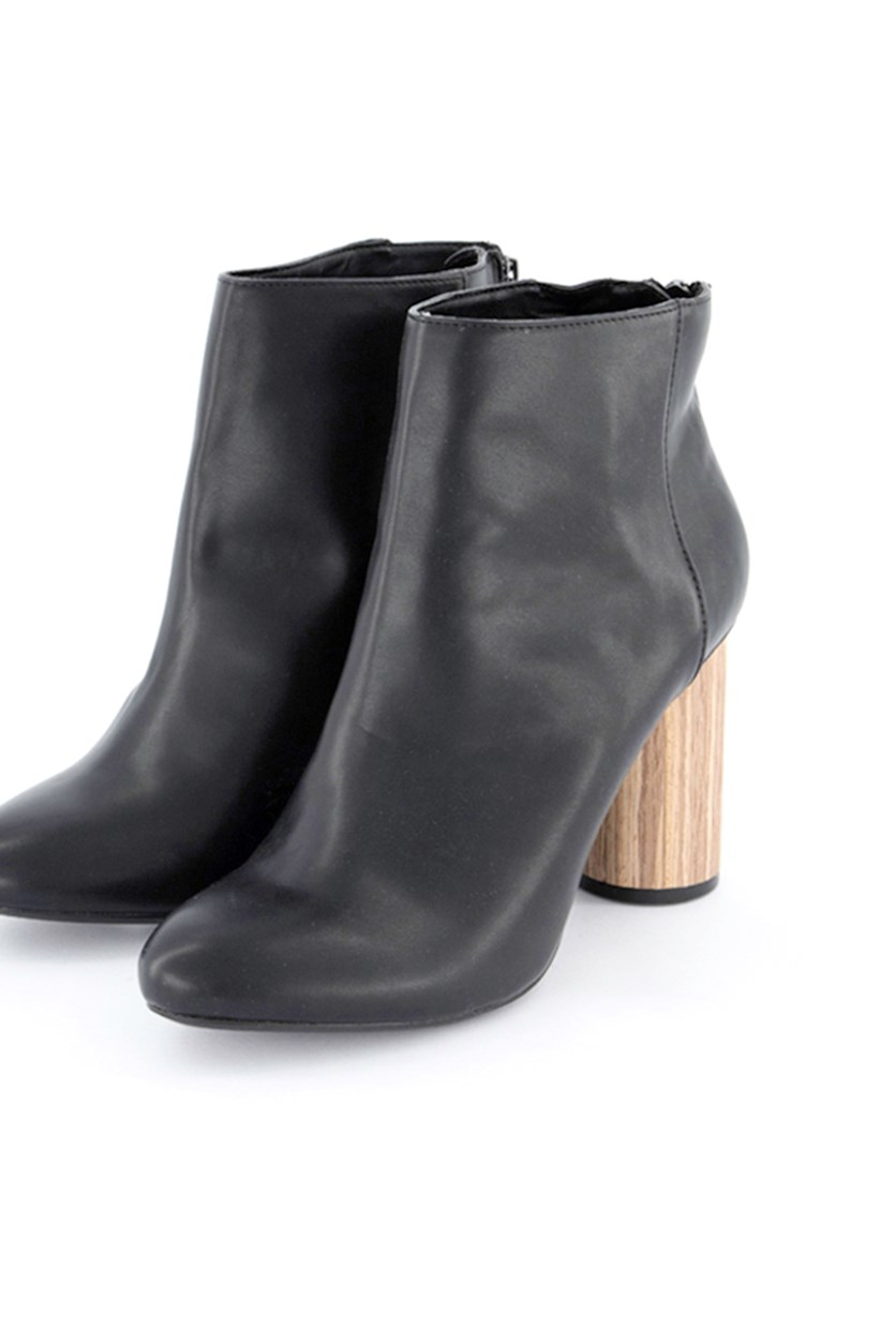 Women's Ankle Boots, Black/Brown