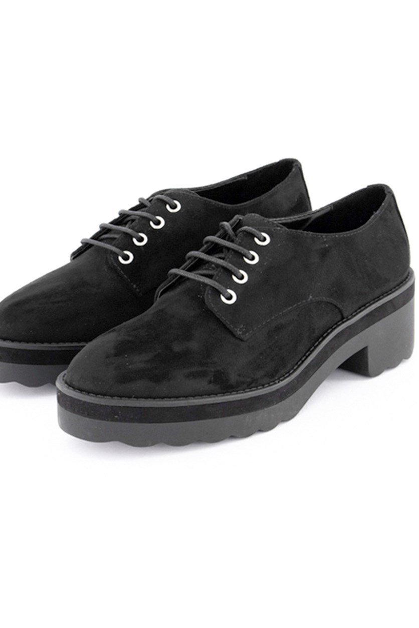 Women's Casual Chunky Shoes, Black