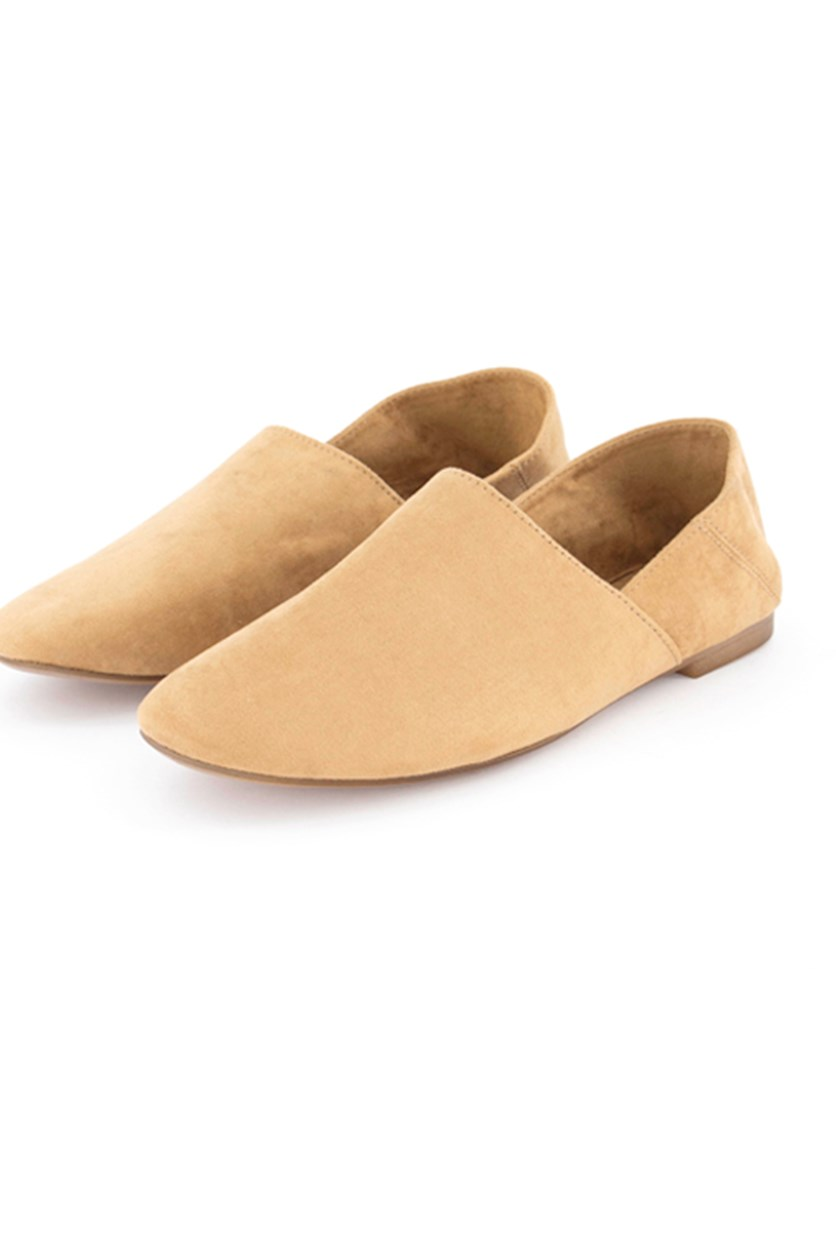 Women's Slip On Shoes, Brown