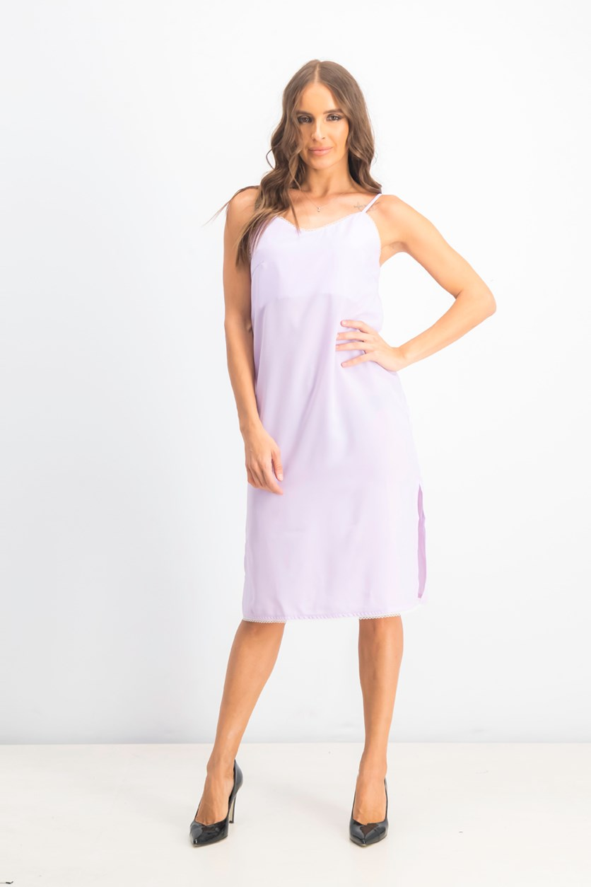 Women's Sleeveless Dress, Lavender