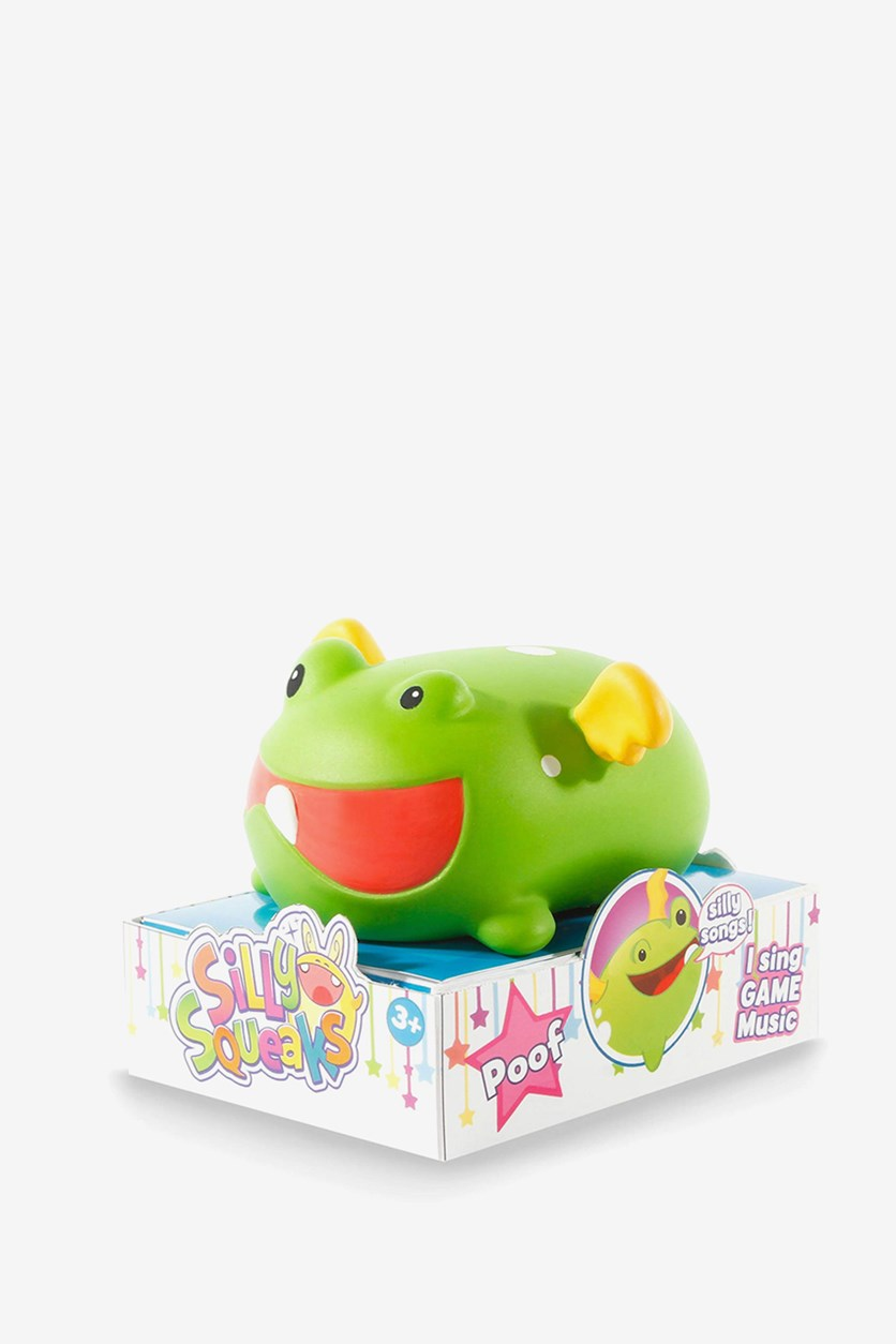 Silly Makes Noise Musical Pets Poof, Green