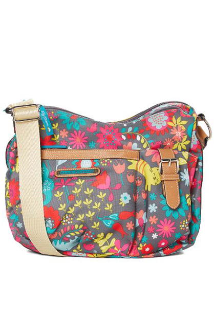 Playful Garden Kathryn Classic Hobo, Navy