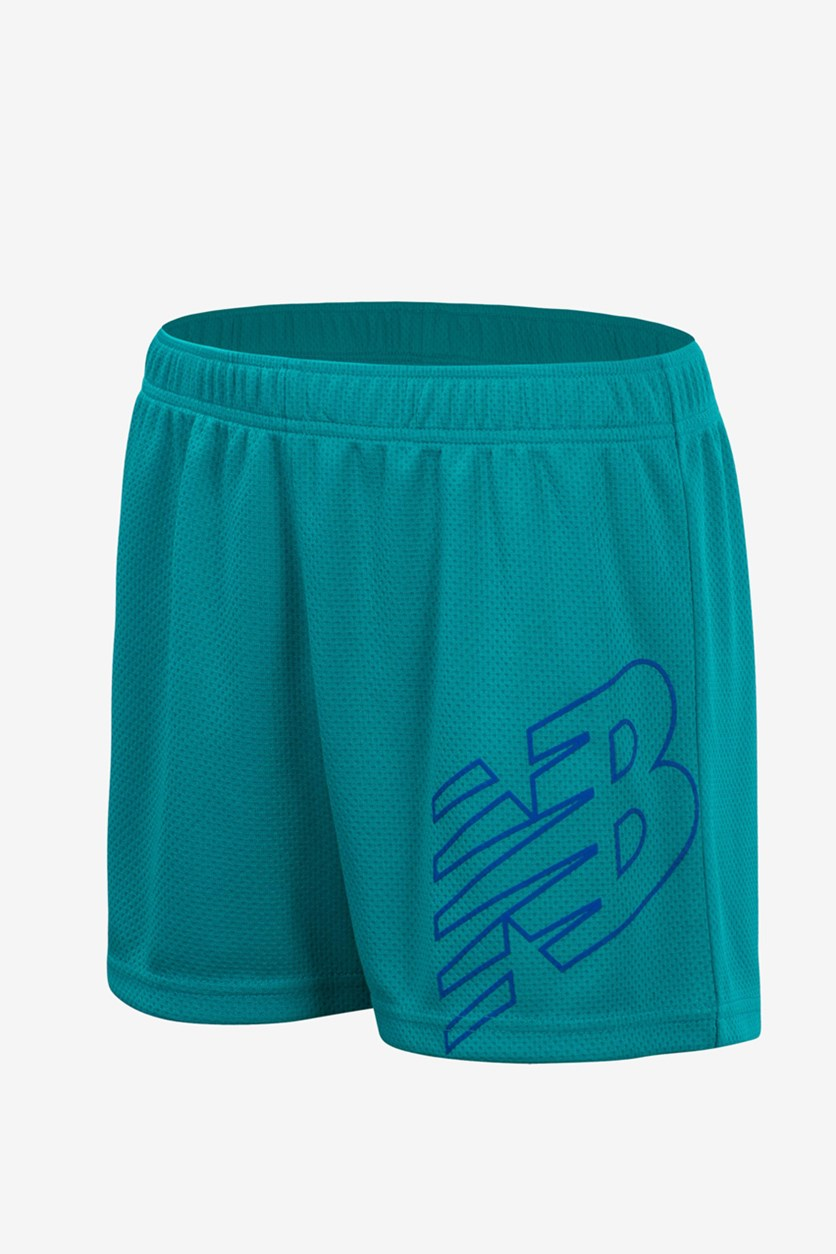 Toddler's Core Performance Shorts, Emerald Green