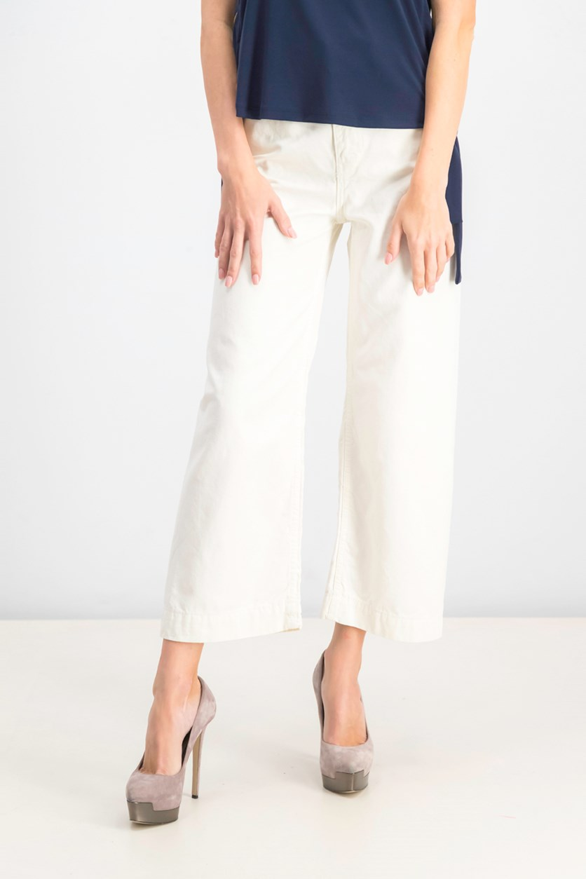 Women's Casual Pants, Ivory