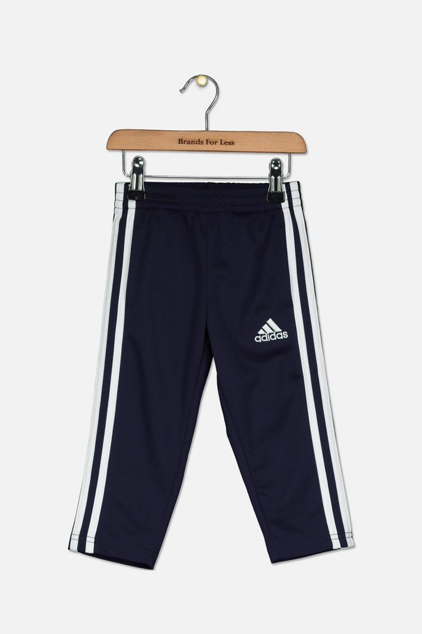 Toddler Boy's Trainer Pants, Navy