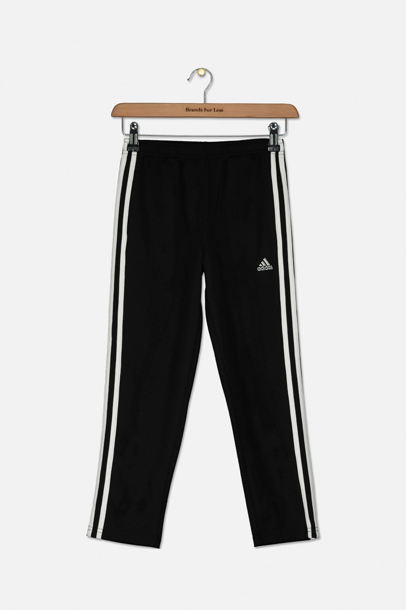 Big Girls Trainer Athletic Pants, Black
