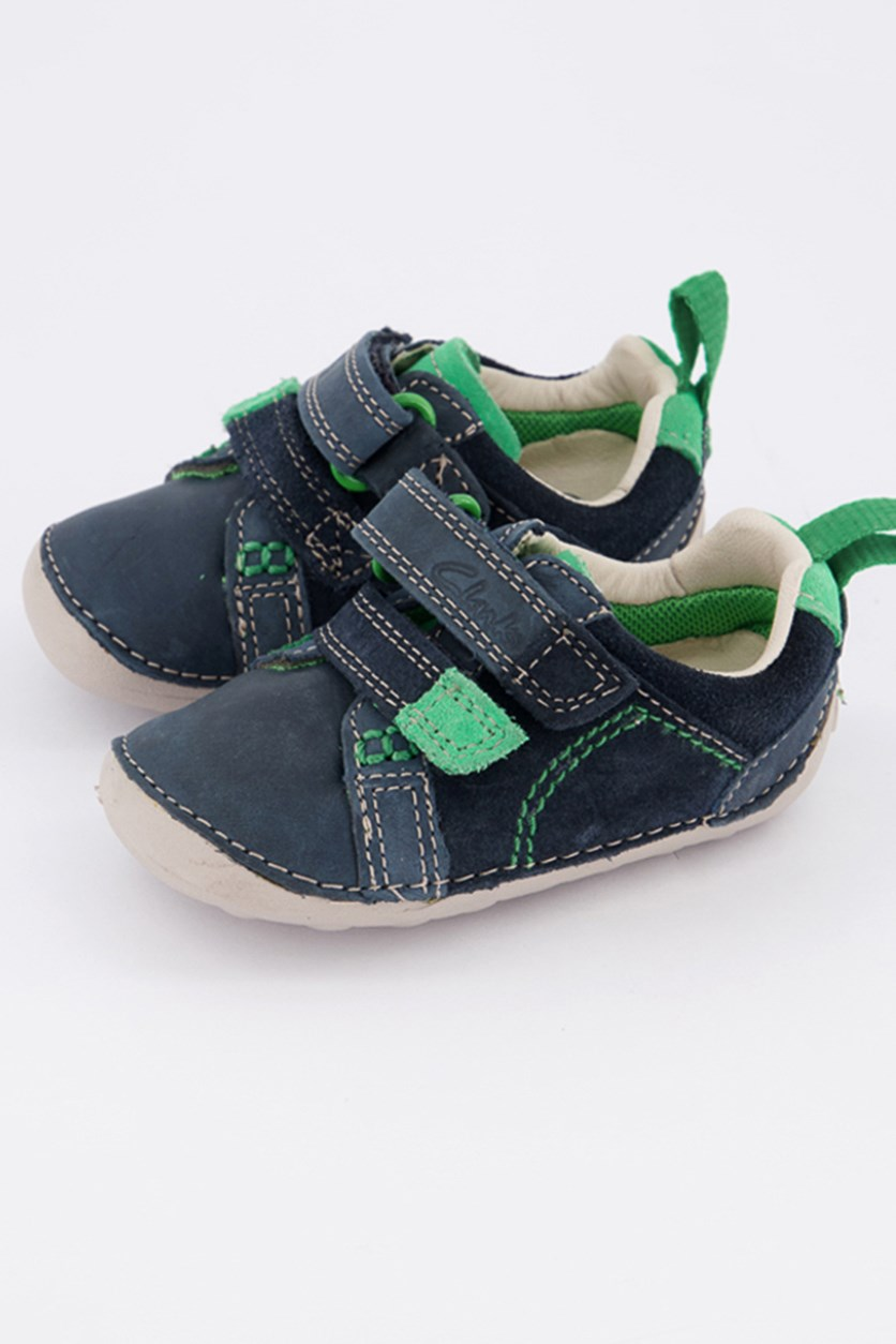 Baby Boy's Tiny Soft First Shoes, Navy