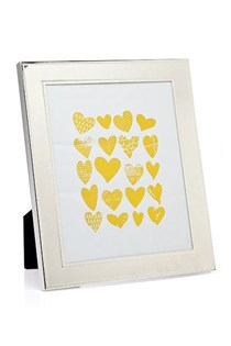 Fine Bead Picture Frame, Silver