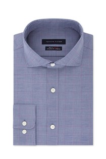 Men's Athletic Stretch Fit Dress Shirt, Purple