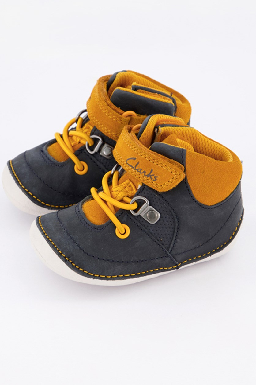 Baby Boy's Tiny Dan First Shoes, Navy