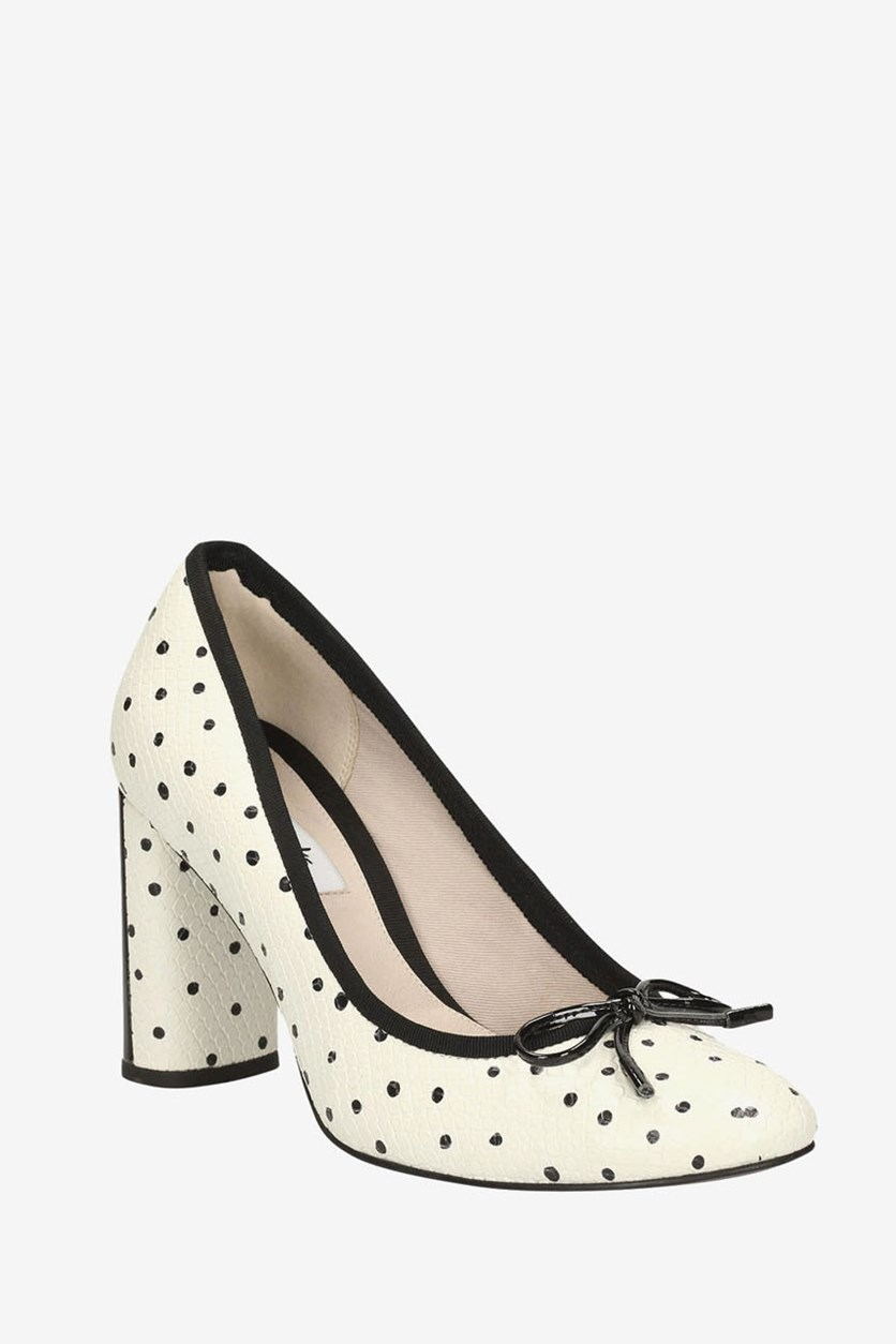 Women's Idamarie Faye Pumps, Black/White