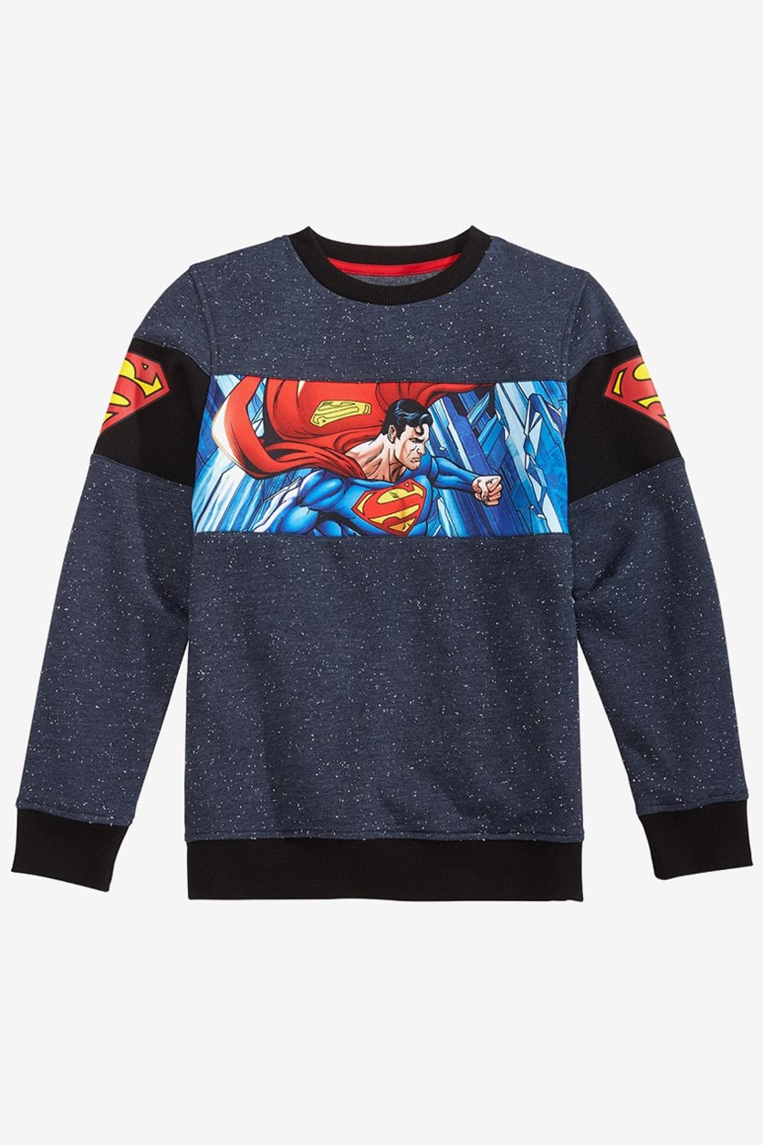 Big Boys Grinchmas Sweater, Red Combo