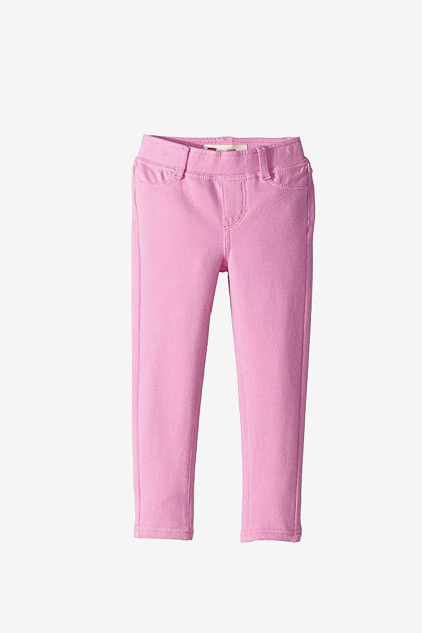 Toddlers Girls Haley May Knit Leggings, Pink