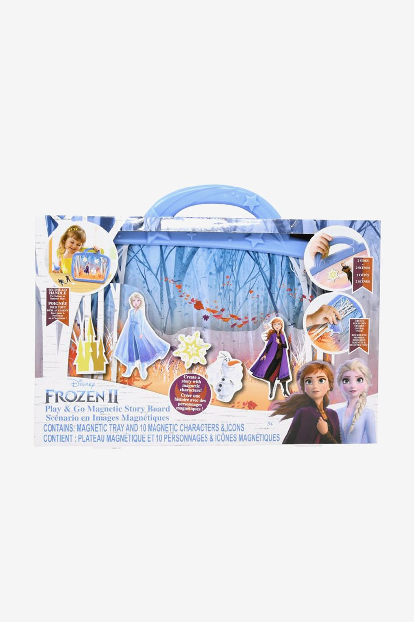 Frozen 2 Play And Go Magnetic Story Board, Blue