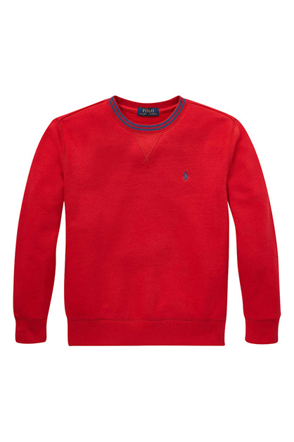 Boy's Sweater, Red