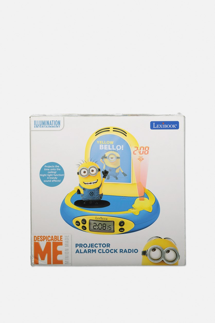 Projector Alarm Clock, Yellow