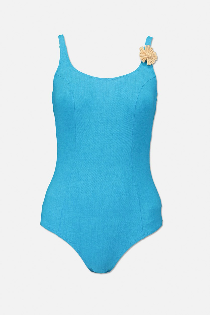 Women's One Piece Swimwear, Blue