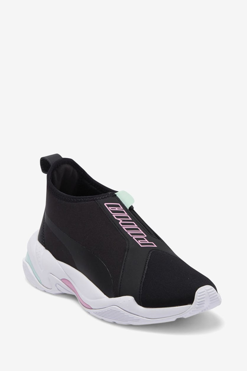 Women Thunder Sneakers, Black/Pink