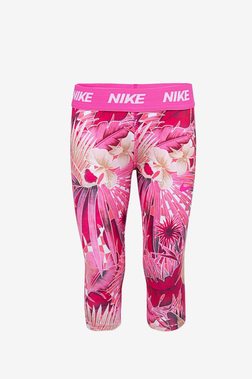 Girls Dri-fit Athletic Leggings, Pink