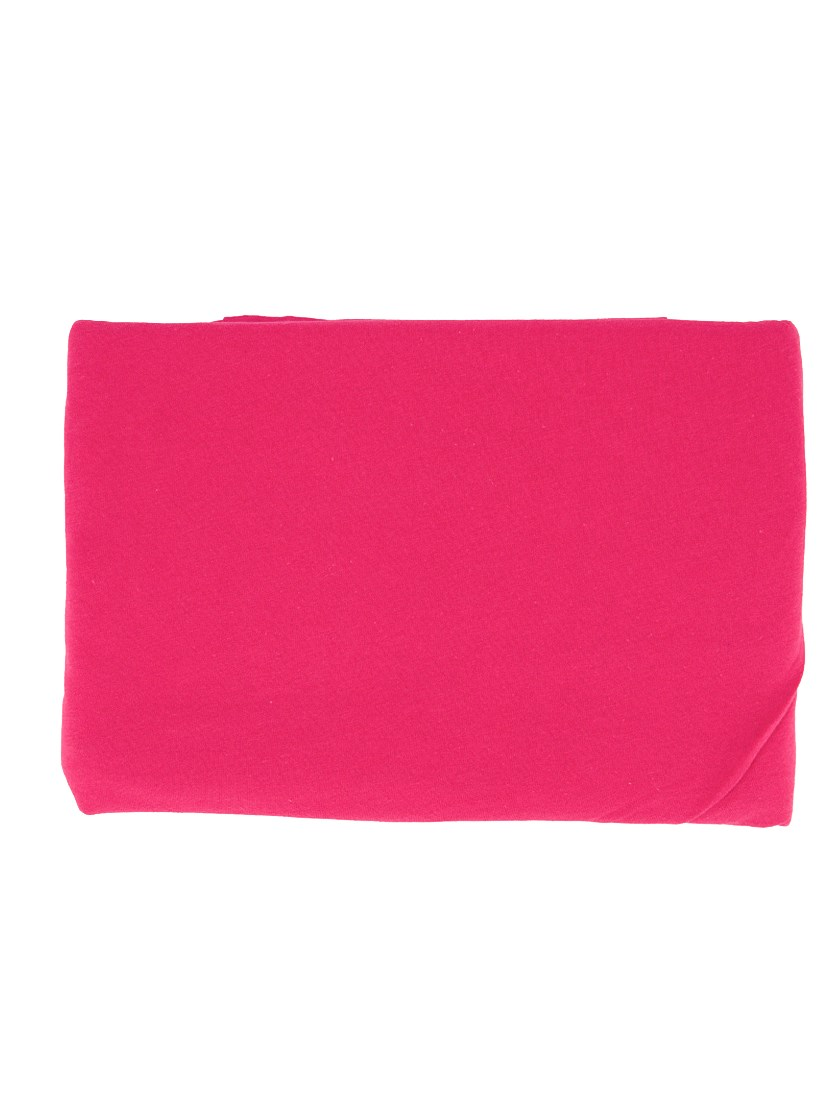2 Jersey Pillowcase 80 x 70 cm, Fuchsia