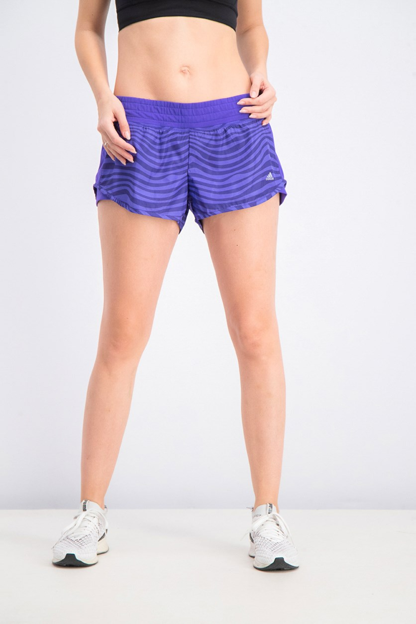 Women's Performance Edge Shorts, Purple