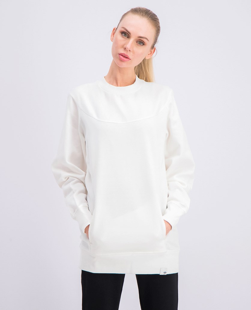 Women's Pullover Sweatshirt, White