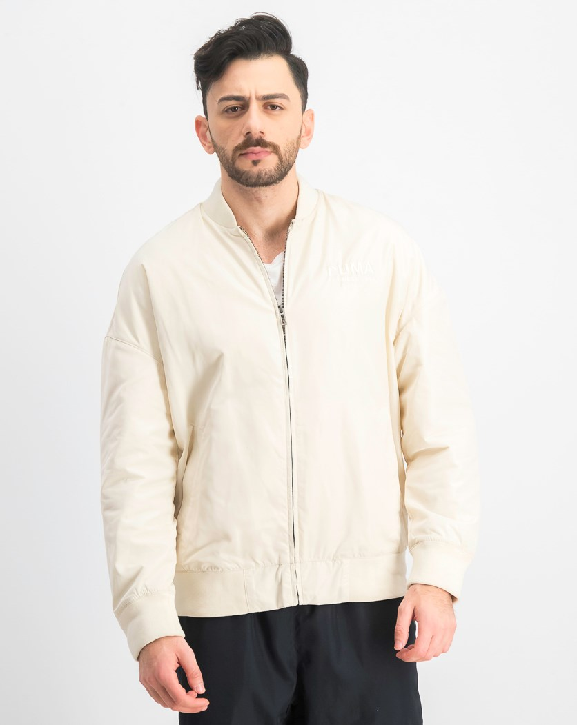 Men's Long Sleeve Jacket, Beige