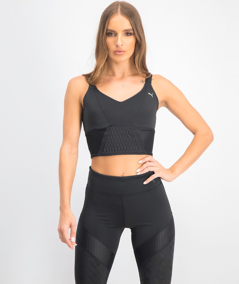 Women's Cosmic Crop Top, Black