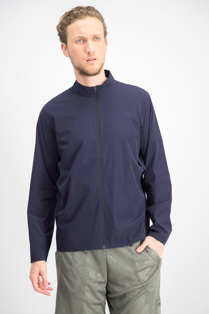 Men's Zippered Jacket, Navy