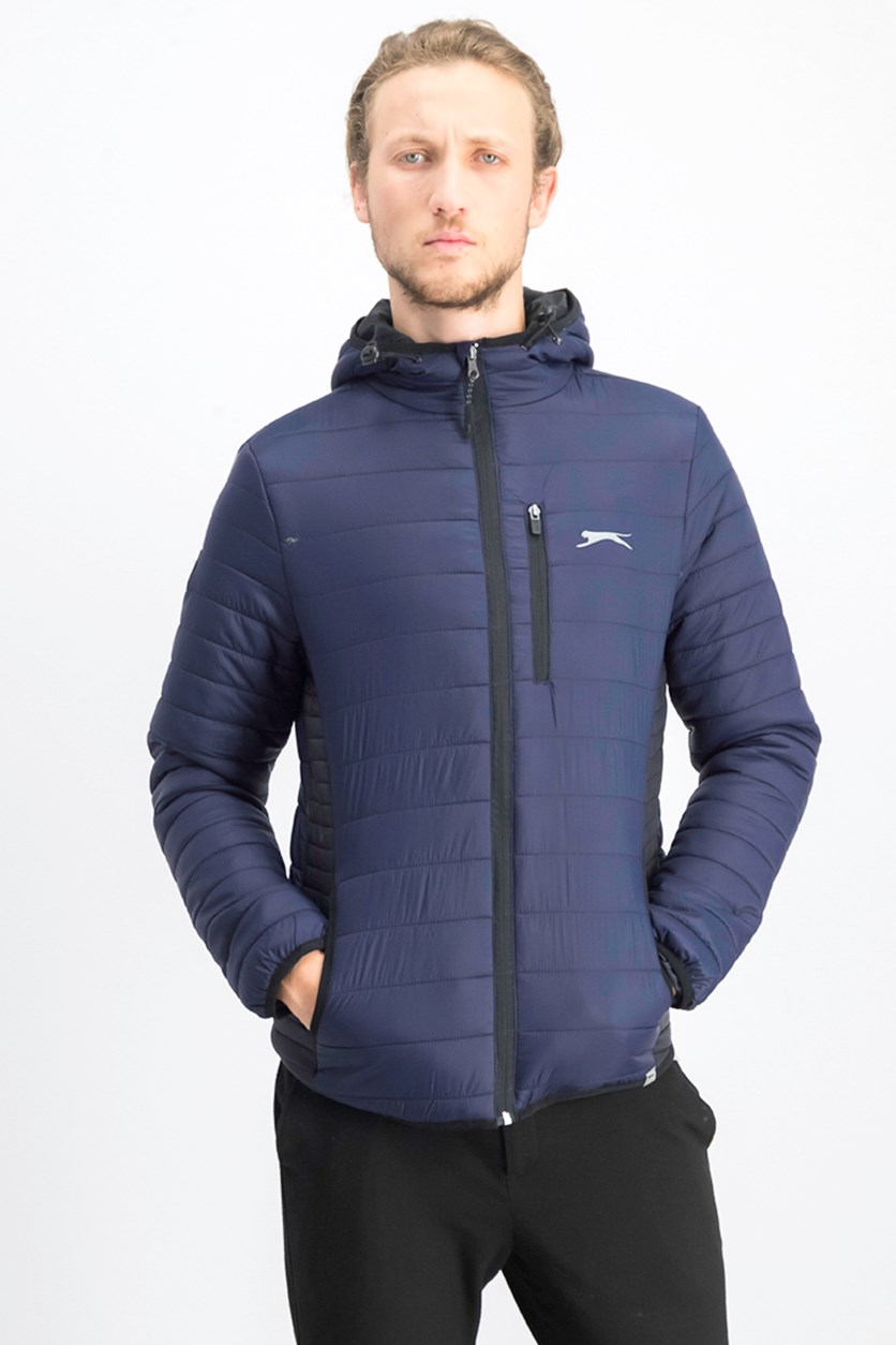 Men's Hooded Jacket, Midnight Navy
