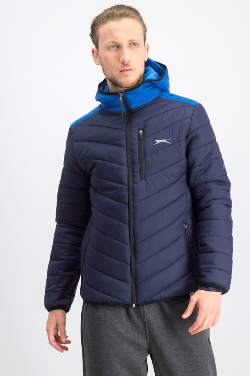 Men's Hooded Jacket, Navy