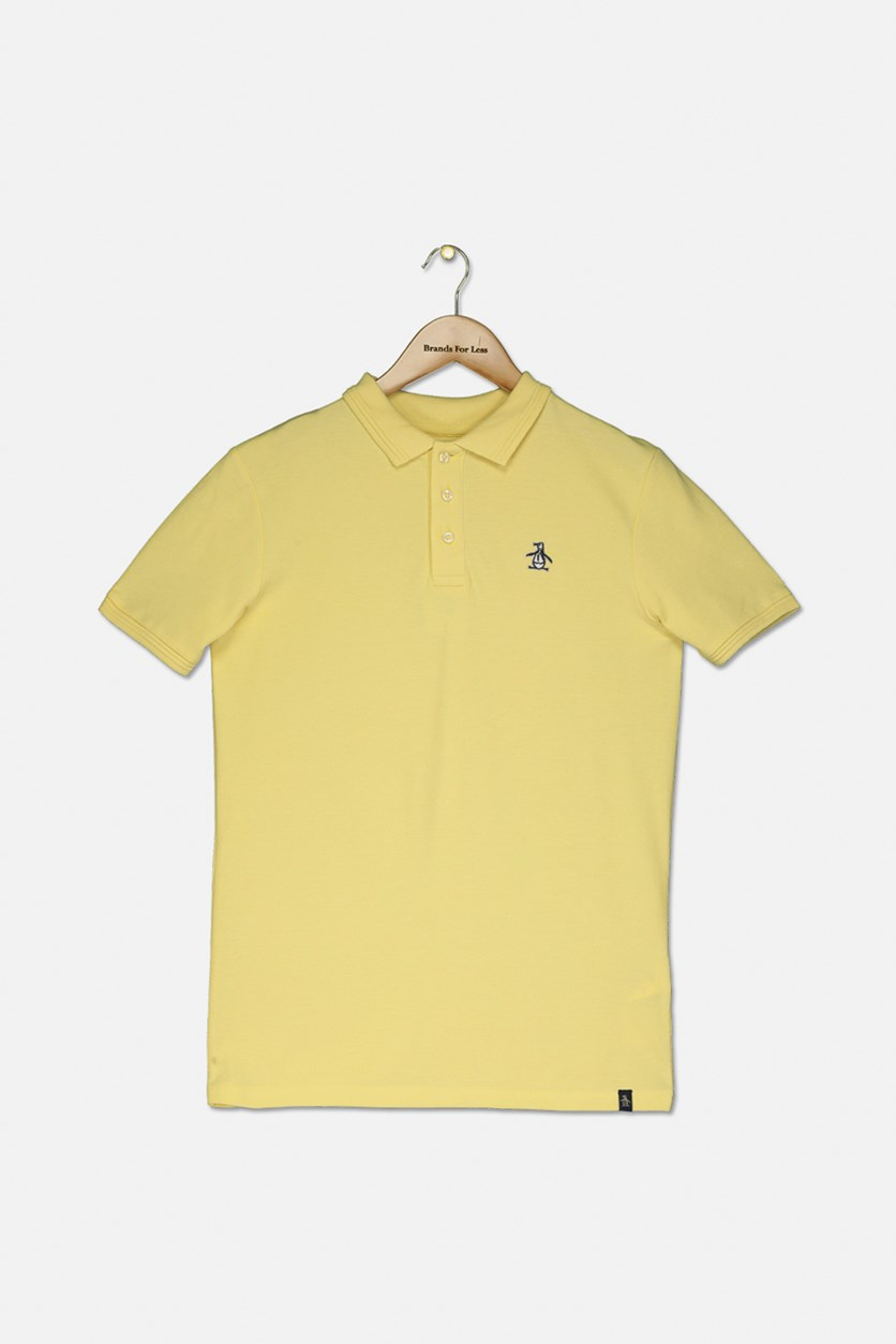 Raised Tipped Polo, Pineapple Slice