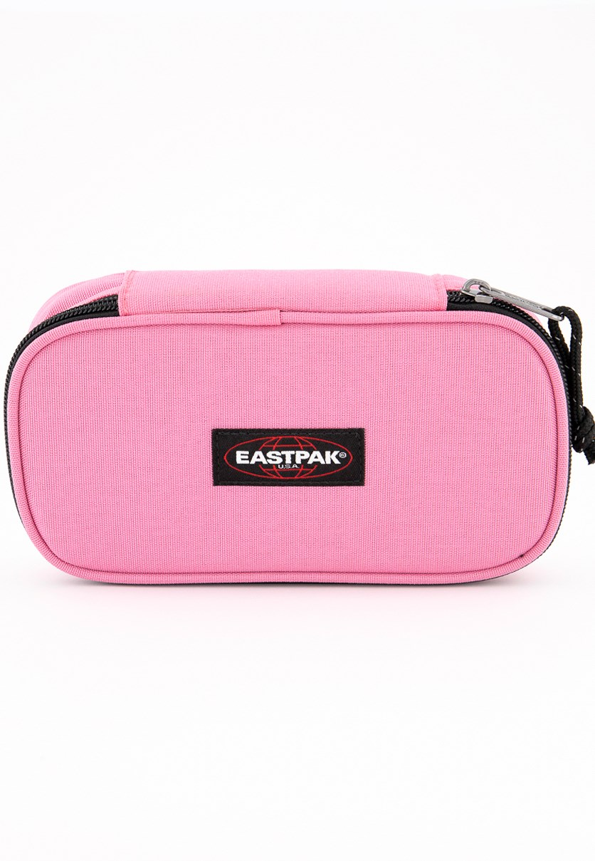 Oval Xl Single Pencil Case, Pink