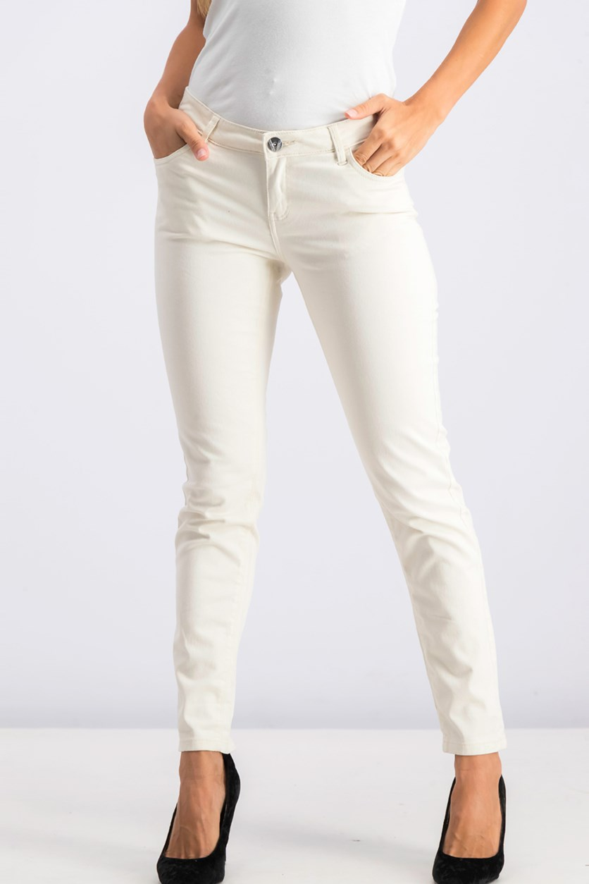 Women's Trousers, Cream